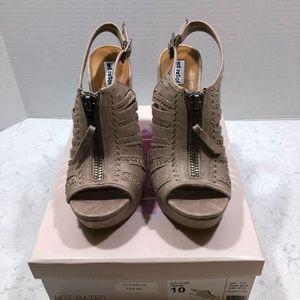 NOT RATED Saucin Wedge Platform Sandal